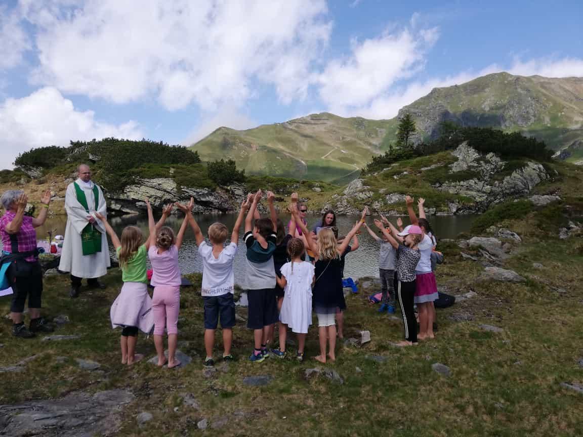 Abschlussgottesdienst am Krummschnabelsee